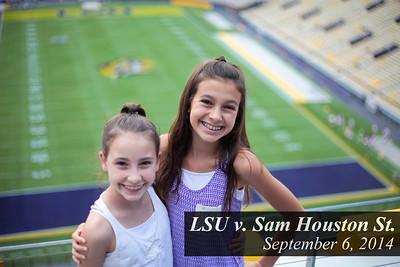 LSU vs. Sam Houston 9.6.14 - Tiger Athletic Foundation