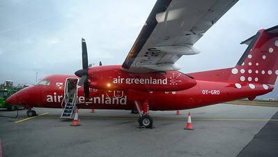 Flying in and out of Greenland