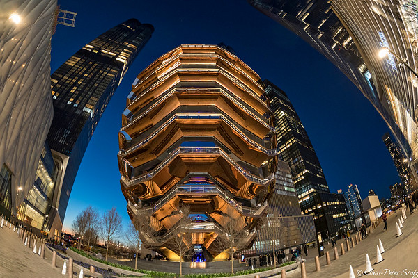 The Vessel in Hudson Yards
