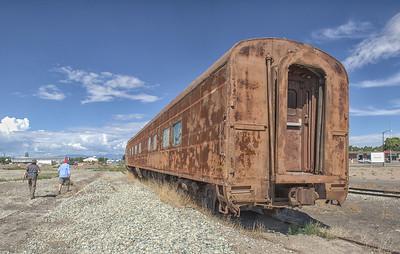 Railcar Graveyard
