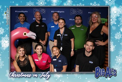 Big Al's Christmas in July Event