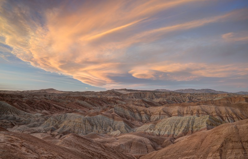 (2016-December 10) Borrego Badlands, Anza-Borrego Desert State Park, California.