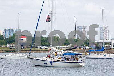 """Pirate's Lair""- Sail # - Venice, Fla."