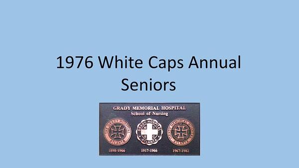 1976 White Caps Yearbook
