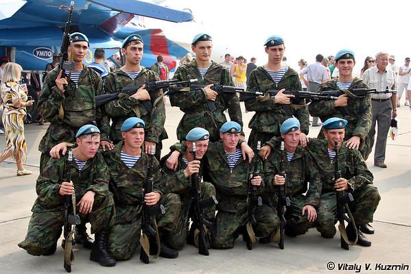 45th Detached Guards Special Purpose Regiment of VDV show