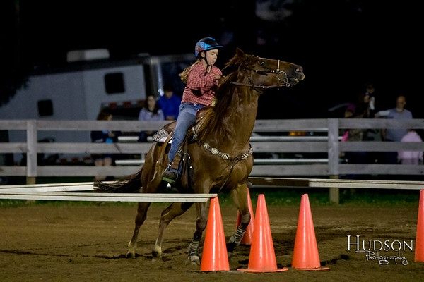 16. Raised Box Keyhole Horse  Jr. Rider