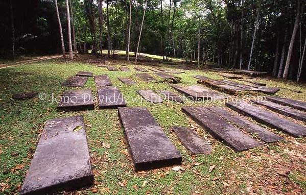 SURINAME, Jodensavanne. Beth Haim Cemetery. (2007)