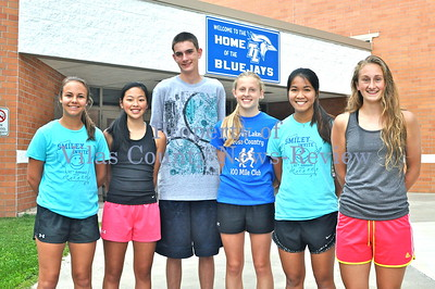 Three Lakes Returning Cross-Country Letterwinners