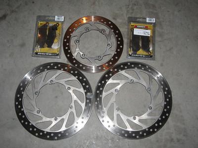 2007_02_10 KTM 950 Disks