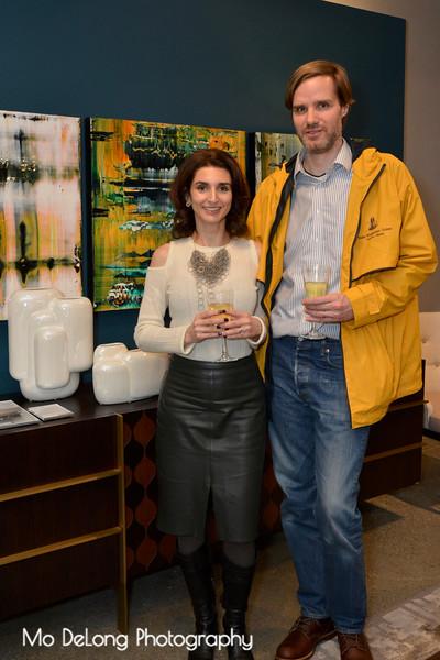Adele Salierno and Brendan Beazley