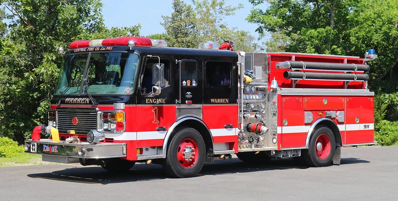 Engine 1. 2004 American LaFrance Eagle.  1500 / 1000