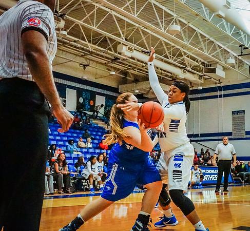 Lady Panthers Varsity vs  Weatherford 01-12-16-26