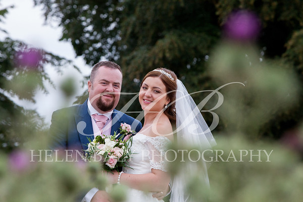 Tanya & Gareth, St.Peter's Eccleshall & afterwards at The Hundred House, July 2018