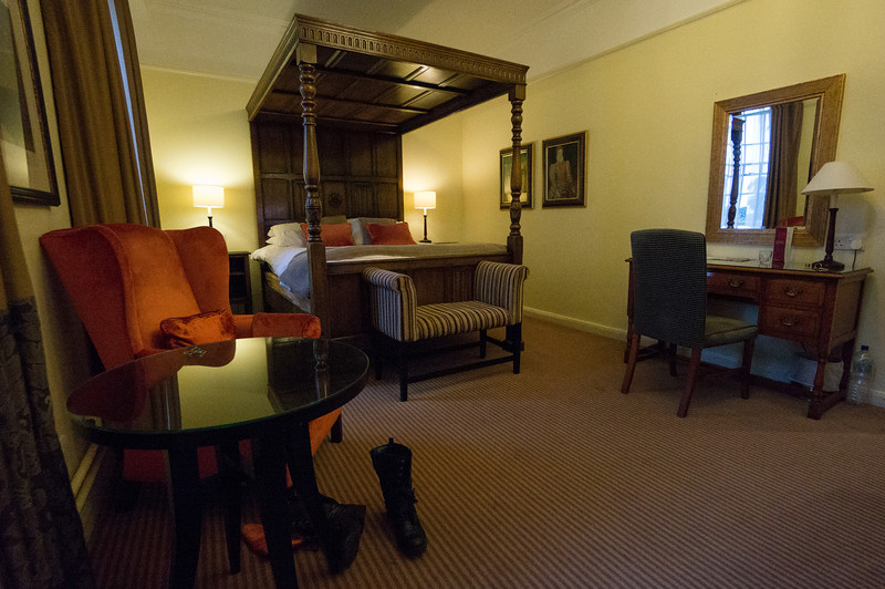 Our room at the Shakespeare Hotel, very nice!
