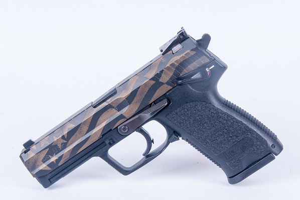 HK USP Burnt Bronze