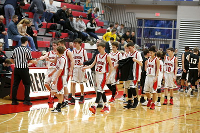 Boys Freshman Basketball - 1/11/2018 Newaygo