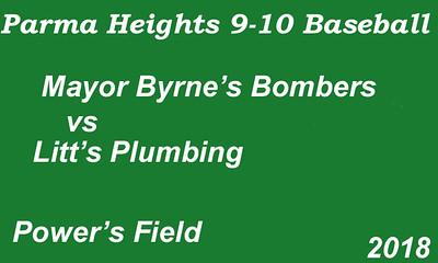 180614 Parma Heights Boy's 9-10 Baseball Powers Field