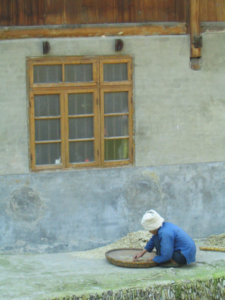 After leavng Kaili, I villiage hop for about a week.  My first stop is the Dong village of Zhaoxing.