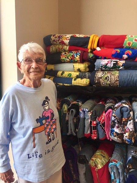 Dora Day and her Quilts