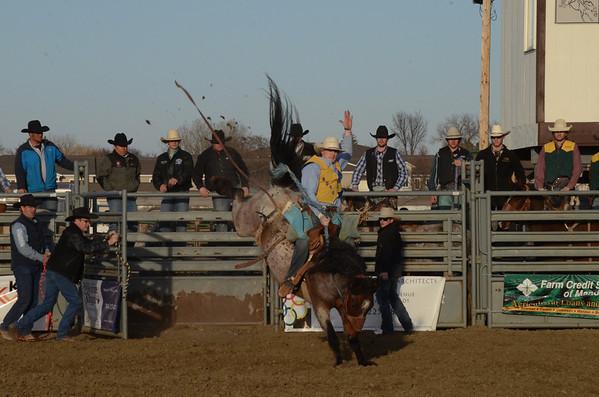 DSU Friday Perf - Saddle Bronc