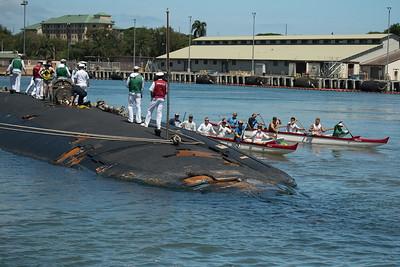 2019 OCC Welcomes  USS Hawaii to Pearl Harbor  6-6-2019