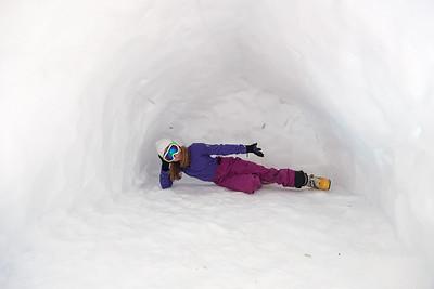 Schneewechtenbiwak Häuslalm II - März 2013