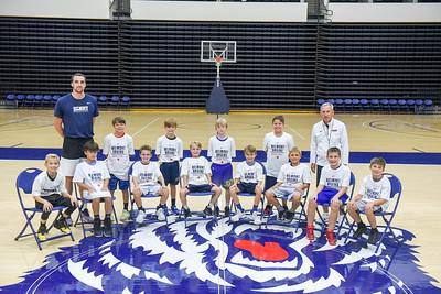 Boys basketball camp summer 2018