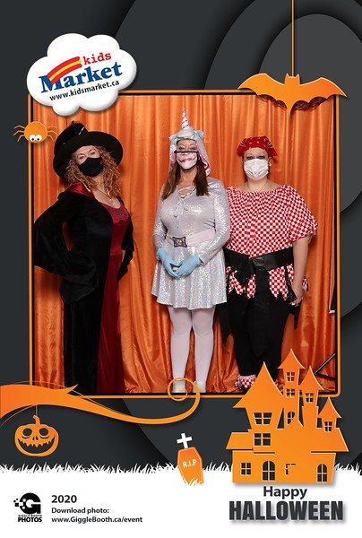 Kids Market - Granville Island - Halloween 2020