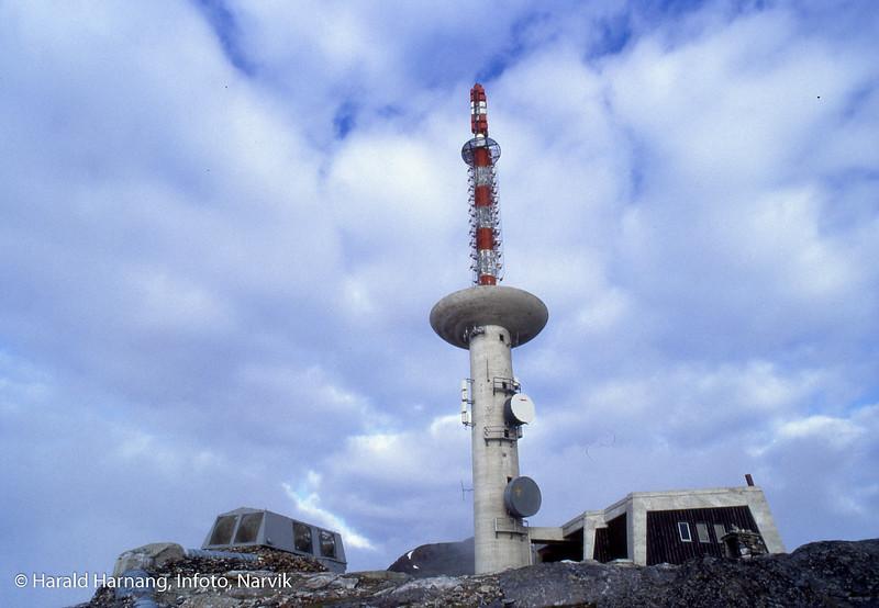 Kommunikasjonstårn på Fagernestoppen, også kalt Linken eller TV-masta.