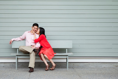 Aimee & David - Engagement