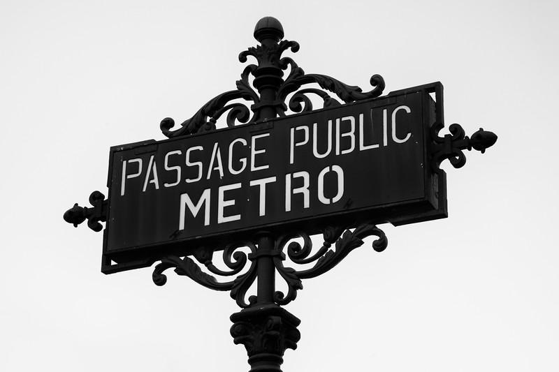 Passage Public Metro