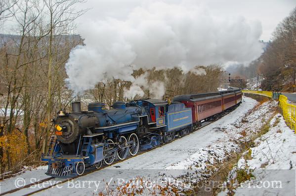 Reading, Blue Mountain & Northern Pottsville, Pennsylvania November 30, 2014