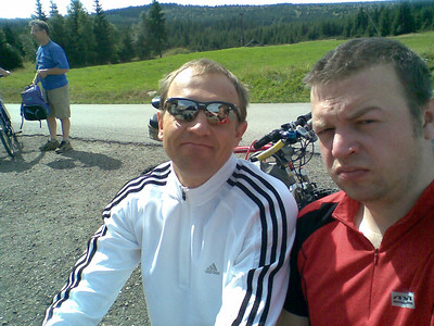 Biking Jizera Mountains 2008