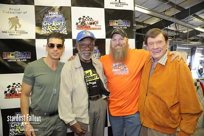 Mike Hammer Celebrity Go-Kart