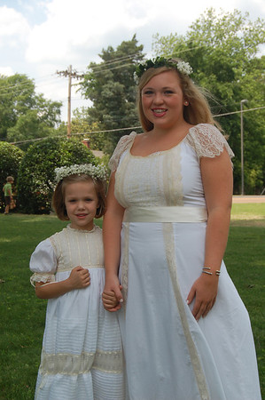 SMS Graduation-Emma Sanders Flower Girl 2014