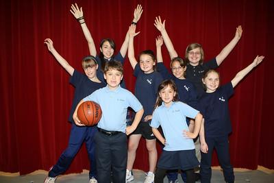 K-8 Pre-Musical Photo, Theatre Group, St Jerome Regional School, Tamaqua (4-26-2012)