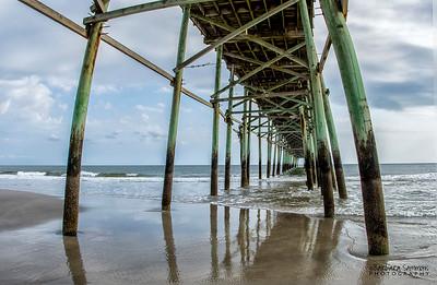 Yaupon Beach Fishing Pier, Oak Island, North Carolina