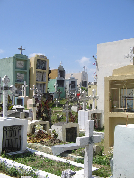 Cemetary in town