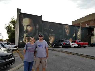 Walking Dead Mural Cynthiana Ky