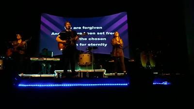 Mark and Kaily Worship night