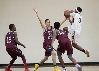 12/2/15: Boys' Varsity Basketball v Brunswick
