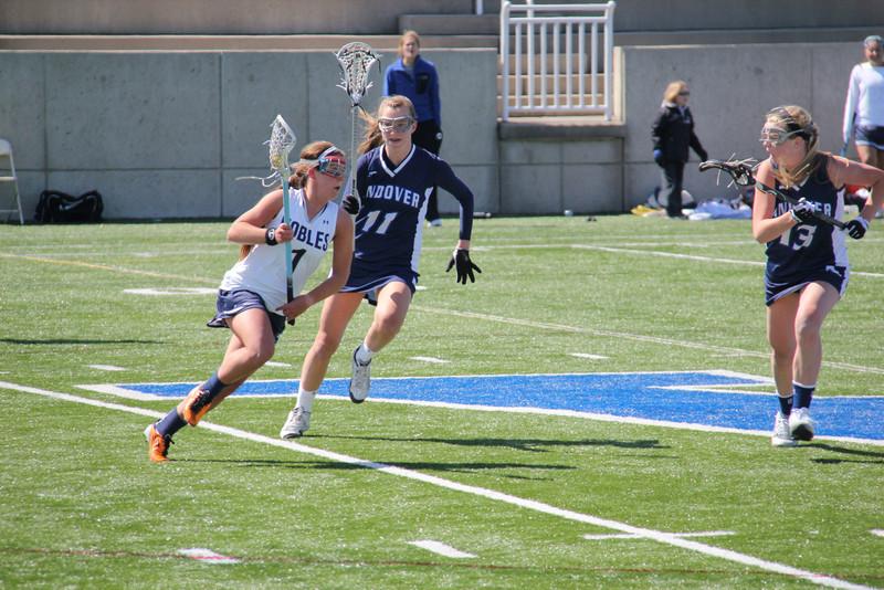 Girls Lacrosse vs. Nobles 4/6/13