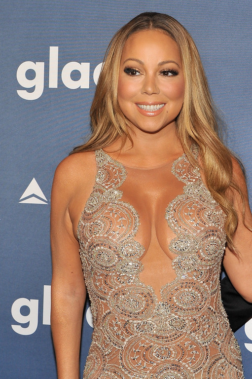 . Mariah Carey attends at The 27th Annual GLAAD Media Awards with Hilton at Waldorf Astoria Hotel on May 14, 2016 in New York City.  (Photo by D Dipasupil/Getty Images for Hilton)