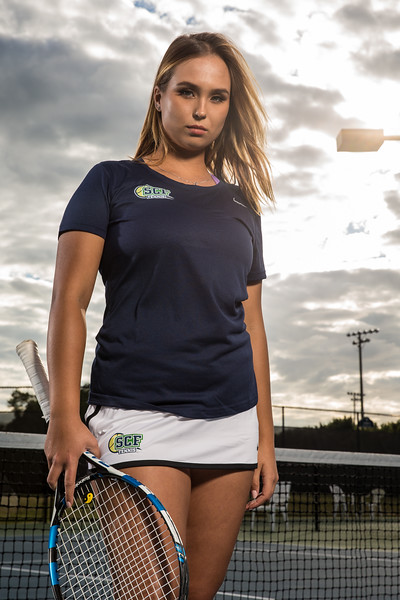 SCF's tennis portraits
