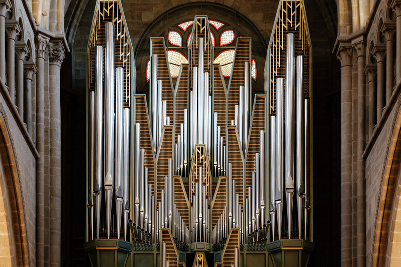Organ of the St. Pierre Cathedral in Geneva