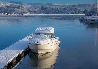 Båtliv vinter