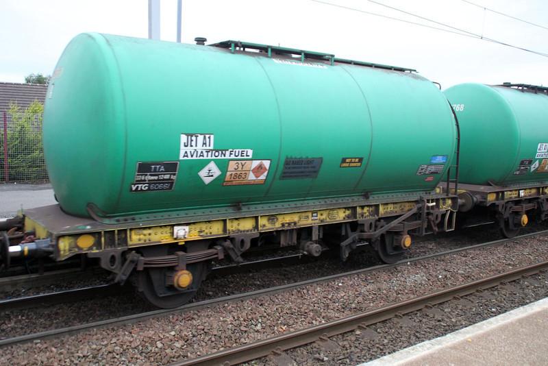 TTA 60661 In 6z47 Prestwick-Grangemouth at Coatbridge Central 02/07/12