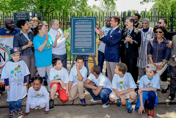 African Burial Ground Historical Sign Unveiling at Drake Park