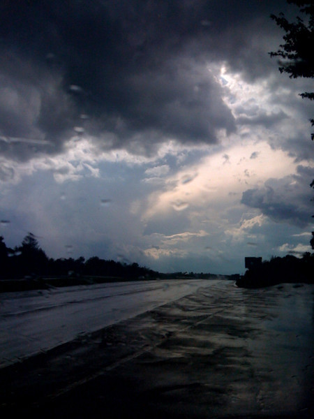 Thunderstorm in Lexington MA
