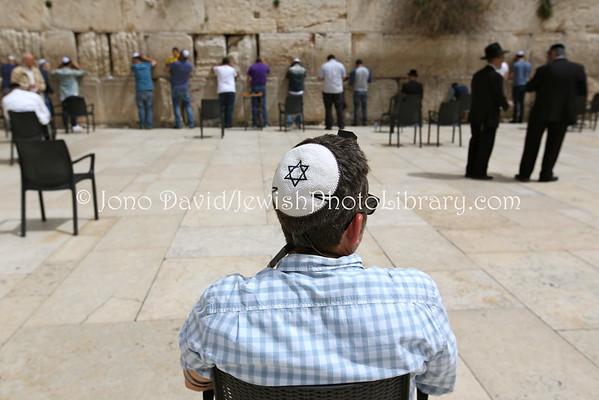 ISRAEL, Jerusalem, Old City, Jewish Quarter. Kotel (Western Wall) (3.2015)